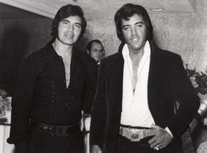 Backstage at the Riviera Hotel in Las Vegas with Engelbert Humperdink on May 25, 1972-3