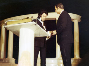 January 16, 1971 when the United States Junior Chamber of Commerce (the Jaycees) named Elvis One of the Ten Outstanding Young Men of the Nation for 1970 1