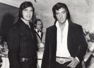 Backstage at the Riviera Hotel in Las Vegas with Engelbert Humperdink on May 25, 1972-1