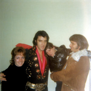 Backstage in Boston with Canadian fans and Concert West promoter Tom Hulett on November 10, 1971 1