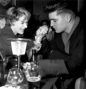 Elvis and Vera Tschechowa in Munich ( Germany ) in april 4 1959-5
