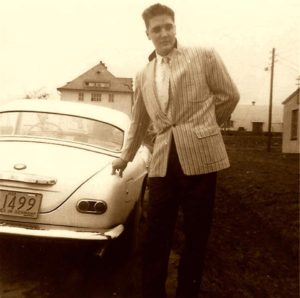 February 1959 Elvis at The Ray Barracks in Friedberg - Germany,