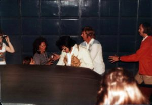 Heading to perform via the hotel back entrance in Macon, GA on June 1, 1977 4