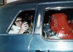 Heading to perform via the hotel back entrance in Macon, GA on June 1, 1977 6