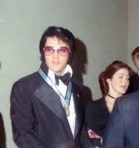 January 16, 1971 when the United States Junior Chamber of Commerce (the Jaycees) named Elvis One of the Ten Outstanding Young Men of the Nation for 1970 3
