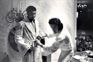 Muhammad Ali in Las Vegas in February 1973