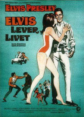 Elvis lever livet plakat